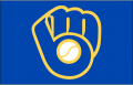 Milwaukee Brewers 2006-2019 Cap Logo iron on sticker