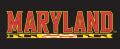 Maryland Terrapins 1997-Pres Wordmark Logo 11 decal sticker