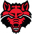 Arkansas State Red Wolves 2008-Pres Prmary Logo iron on sticker