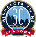Minnesota Twins 2020 Anniversary Logo iron on sticker