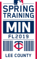 Minnesota Twins 2019 Event Logo iron on sticker