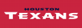 Houston Texans 2002-Pres Wordmark Logo decal sticker