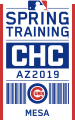 Chicago Cubs 2019 Event Logo decal sticker