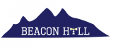 Beacon hill logo iron on sticker