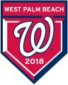 Washington Nationals 2018 Event Logo decal sticker