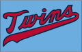 Minnesota Twins 2020-Pres Jersey Logo iron on sticker