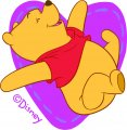 Disney Pooh Logo 19 decal sticker