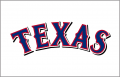 Texas Rangers 2009-2013 Jersey Logo 02 iron on sticker