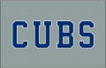 Chicago Cubs 2014-Pres Jersey Logo decal sticker