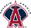 Los Angeles Angels 2002-2004 Primary Logo decal sticker