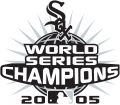 Chicago White Sox 2005 Champion Logo decal sticker