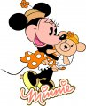 Minnie Mouse Logo 10 decal sticker