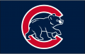 Chicago Cubs 2003-2006 Batting Practice Logo decal sticker