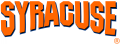 Syracuse Orange 1992-2003 Wordmark Logo iron on sticker