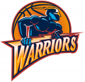 Golden State Warriors 1997-2009 Primary Logo iron on sticker
