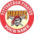 Pittsburgh Pirates Customized Logo decal sticker