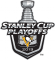 Pittsburgh Penguins 2018 19 Event Logo iron on sticker