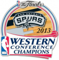 San Antonio Spurs 2012-13 Champion Logo decal sticker