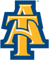 North Carolina A&T Aggies 2006-Pres Alternate Logo 01 iron on sticker