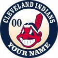 Cleveland Indians Customized Logo decal sticker