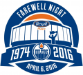 Edmonton Oilers 2015 16 Special Event Logo decal sticker