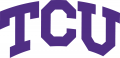 TCU Horned Frogs 1995-Pres Wordmark Logo 02 decal sticker