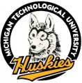 Michigan Tech Huskies 1984-1992 Primary Logo iron on sticker