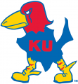 Kansas Jayhawks 1929-1940 Primary Logo iron on sticker