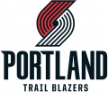 Portland Trail Blazers 2017-2018 Pres Primary Logo decal sticker
