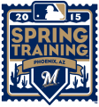 Milwaukee Brewers 2015 Event Logo iron on sticker