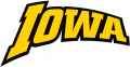 Iowa Hawkeyes 2002-Pres Wordmark Logo 03 iron on sticker