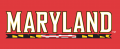 Maryland Terrapins 1997-Pres Wordmark Logo 03 decal sticker