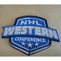 NHL West Conference Embroidery logo