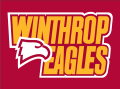 Winthrop Eagles 1995-Pres Wordmark Logo 01 decal sticker
