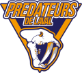 Laval Predators 2014 15-Pres Primary Logo decal sticker