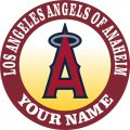 Los Angeles Angels Of Anaheim Customized Logo decal sticker