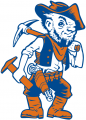 UTEP Miners 1991 Mascot Logo decal sticker