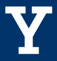 Yale Bulldogs 2000-Pres Alternate Logo 01 decal sticker