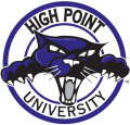 High Point Panthers 2004-2011 Alternate Logo 01 decal sticker