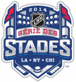 NHL Stadium Series 2013-2014 Alt. Language Logo iron on sticker