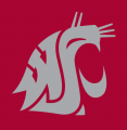 Washington State Cougars 1995-Pres Alternate Logo 01 decal sticker