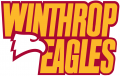 Winthrop Eagles 1995-Pres Wordmark Logo 03 decal sticker