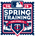 Minnesota Twins 2015 Event Logo iron on sticker