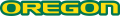 Oregon Ducks 1999-Pres Wordmark Logo 02 decal sticker