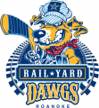 Roanoke Rail Yard Dawgs 2016 17-Pres Primary Logo decal sticker