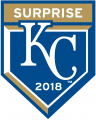Kansas City Royals 2018 Event Logo decal sticker