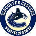 Vancouver Canucks Customized Logo decal sticker