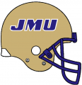 James Madison Dukes 1986-2012 Helmet decal sticker