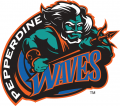 Pepperdine Waves 1998-2003 Primary Logo decal sticker