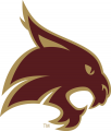Texas State Bobcats 2008-Pres Alternate Logo 02 decal sticker
